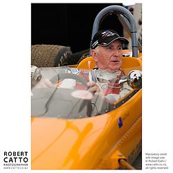 John Watson at the A1 Grand Prix of New Zealand at the Taupo Motorsport Park, Taupo, New Zealand.