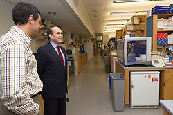 Tour of the Neuroscience Lab at the Yale Medical School during Turkish Ambassador to the United States, His Excellency Namik Tan visit to Yale University | 6 December 2012
