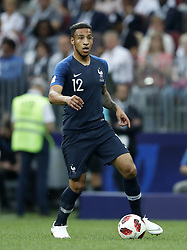 Corentin Tolisso of France during the 2018 FIFA World Cup Russia Final match between France and Croatia at the Luzhniki Stadium on July 15, 2018 in Moscow, Russia