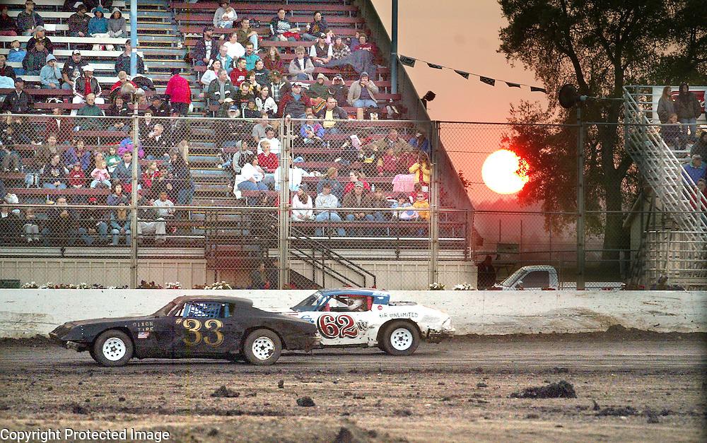Friday night races at Watsonville Speedway.  Photo by Shmuel Thaler <br /> shmuel_thaler@yahoo.com www.shmuelthaler.com