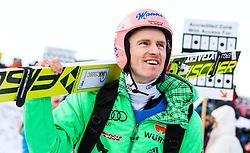 13.02.2016, Vikersundbakken, Vikkersund, NOR, FIS Weltcup Ski Sprung, Vikersund, Skifliegen, im Bild Severin Freund (GER) // Severin Freund of Germany during the Vikersund Ski Flying of FIS Ski Jumping Worldcup Cup at the Vikersundbakken in Vikkersund, Norway on 2016/02/13. EXPA Pictures © 2016, PhotoCredit: EXPA/ Tadeusz Mieczynski
