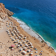 The number one beach in Turkey, Kaputas beach in turqouise coast