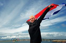 06-08-2012 WATERSPORT: OLYMPISCHE SPELEN 2012 LASER RADIAL MEDALRACE: WEYMOUTH<br /> Marit Bouwmeester wint de zilveren medaille in de Laser Radial<br /> ©2012-FotoHoogendoorn.nl