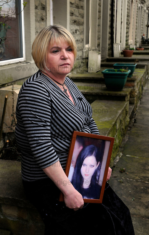 Sylvia Lancaster who`s Goth daughter Sophie was killed by youths