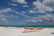 Tulum beach and ruins, Quintana Roo, Yucatan peninsula, Mexico