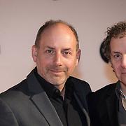 NLD/Amsterdam/20140303 - Uitreiking TV Beelden 2014, Robin de la Vita en broer Alain de la Vita