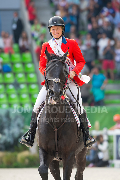 Beezie Madden, (USA), Cortes C - Show Jumping Final Four - Alltech FEI World Equestrian Games™ 2014 - Normandy, France.<br /> © Hippo Foto Team - Leanjo de Koster<br /> 07-09-14