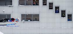 31.12.2014, Olympiaschanze, Garmisch Partenkirchen, GER, FIS Ski Sprung Weltcup, 63. Vierschanzentournee, Qualifikation, im Bild Anders Fannemel (NOR) // during qualification Jump of 63rd Four Hills Tournament of FIS Ski Jumping World Cup at the Olympiaschanze, Garmisch Partenkirchen, Germany on 2014/12/31. EXPA Pictures © 2014, PhotoCredit: EXPA/ JFK