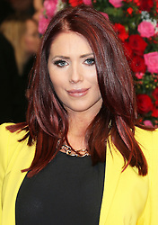 © Licensed to London News Pictures. 13/02/2014, UK. Amy Childs, A New York Winter's Tale - UK film premiere, Odeon Kensington, London UK, 13 February 2014. Photo credit : Richard Goldschmidt/Piqtured/LNP