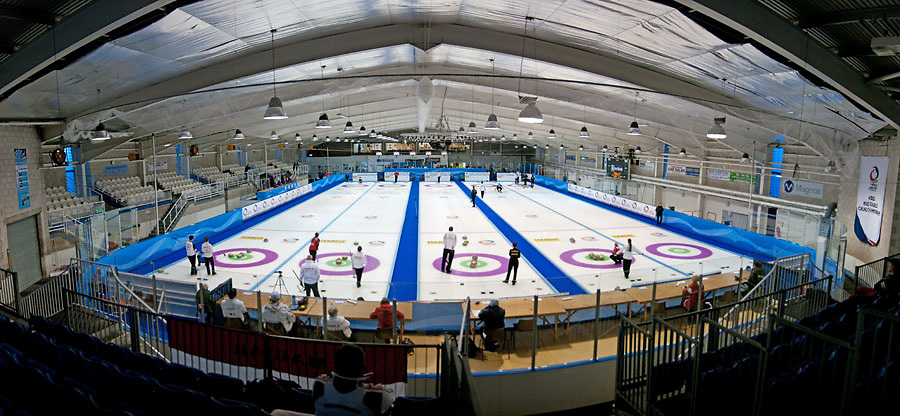 World Mixed Doubles curling championships, Draw 1, Dumfries Ice Bowl, Scotland, April 2014