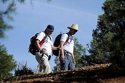 15-09-2010 ALGEMEEN: ATLAS CHALLENGE: OUIRGANE<br /> De derde looptocht in de omgeving van Ouirgane was weer een totaal andere wandeling. Door mooi diep rood gekleurde bergen was het weer een fantastische tocht<br /> ©2010-WWW.FOTOHOOGENDOORN.NL