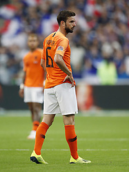 Davy Propper of Holland during the UEFA Nations League A group 1 qualifying match between France and The Netherlands on September 09, 2018 at Stade de France in Saint Denis,  France