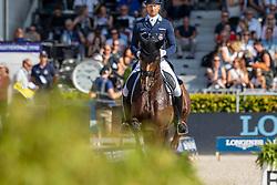 Kittel Patrick, SWE, Well Done de la Roche CMF<br /> European Championship Dressage<br /> Rotterdam 2019<br /> © Hippo Foto - Dirk Caremans