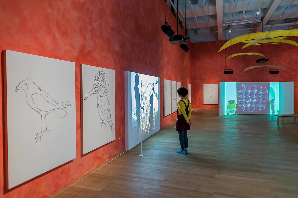 Stream or River, Flight or Pattern - Joan Jonas, Tate Modern opens largest survey of pioneering performance artist's work from her five decade career. It includes an immersive gallery exhibition and live performance programme.