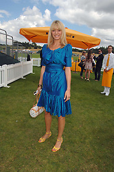 TESS DALY at the final of the Veuve Clicquot Gold Cup 2007 at Cowdray Park, West Sussex on 22nd July 2007.<br /><br />NON EXCLUSIVE - WORLD RIGHTS