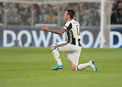 Mario Mandzukic during Champions League Semi-finals match between Juventus v Monaco, in Turin, on may 9, 2017.(Photo by Loris Roselli/NurPhoto) *** Please Use Credit from Credit Field ***