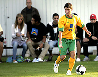 Fotball<br /> Treingskamp Friendly<br /> 22.07.08<br /> Sjövalla Stadion<br /> Falkenbergs FF - Norwich City<br /> Wes Hoolahan<br /> Foto - Kasper Wikestad