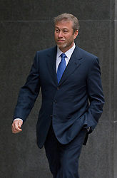 © London News Pictures. 31/10/2011. London, UK. Chelsea Football Club owner Roman Abramovich arriving at The Royal Courts Of Justice today (31/10/2011) to give evidence. Russian Oligarch Boris Berezovsky has started a £3.2 billion lawsuit at the High Court in a battle over Abramovich's £10.3 billion fortune. Photo credit: Ben Cawthra/LNP