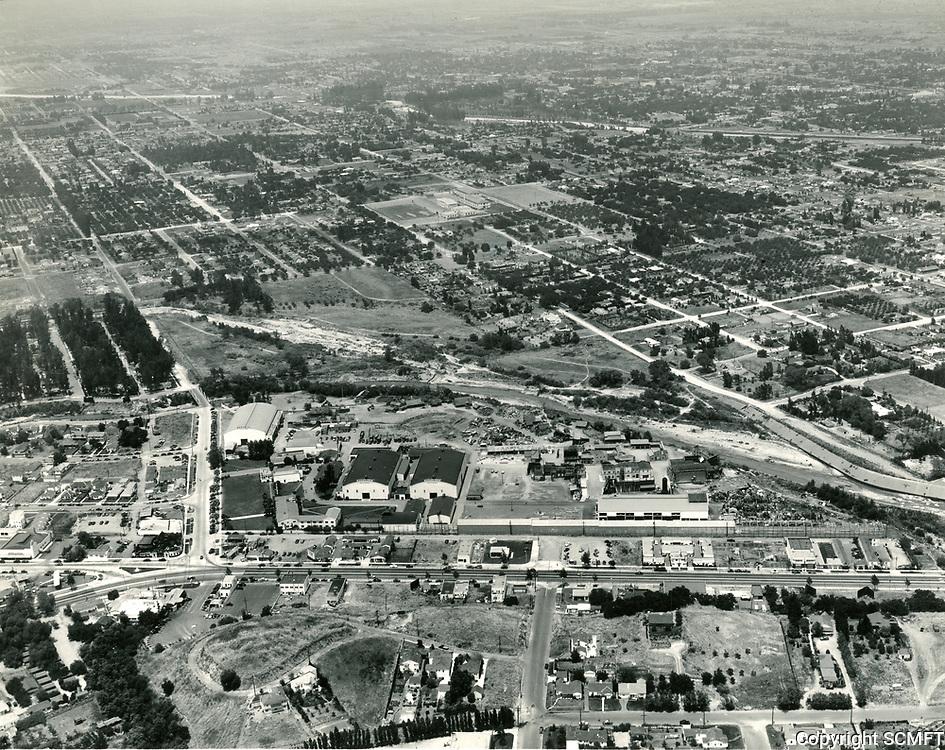1941 Aerial of Republic Studios on Ventura Blvd. in Studio City