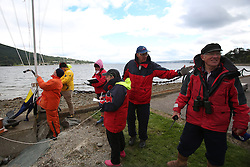 Marine Blast Regatta 2013 - Holy Loch SC<br /> <br /> Rce Mnagement team at Lazeretto<br /> <br /> Credit: Marc Turner / PFM Pictures