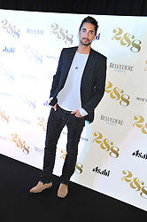 HUGO TAYLOR at a party to celebrate the launch of the new 2&8 club at Morton's Berkeley Square, London on 27th September 2012.