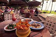 Food, Hula Grill, Kaanapali, Maui, Hawaii<br />