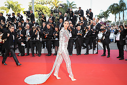 """Sara Sampaio attends the screening of """"Rocketman"""" during the 72nd annual Cannes Film Festival on May 16, 2019 in Cannes, France. Photo by Shootpix/ABACAPRESS.COM"""