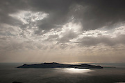 Nea Kameni Volcanic Island, Santorini, Greece