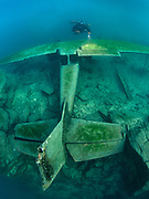 Aircraft Cessna, Dutch Springs, Scuba Diving Resort in Pennsylvania