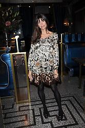 LISA BILTON at a party to celebrate the 1st anniversary of Gift-Library.com held at Bob Bob Ricard, 1 Upper James Street, London on 19th November 2009.