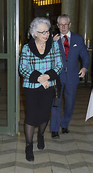 December 18, 2018 - Stockholm, Sweden - Princess Christina, Tord Magnuson..Seminar in connection with The Queen's 75th birthday, Oscar Theatre, Stockholm, 2018-12-18..(c) Karin Törnblom / IBL (Credit Image: © Karin TöRnblom/IBL via ZUMA Press)