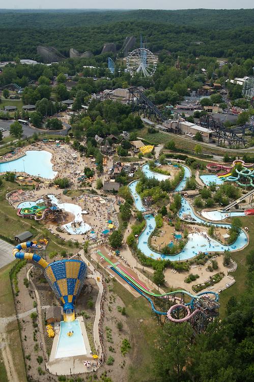 Six Flags St. Louis amusement park in Eureka, Missouri