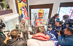 09.01.2017, Flachau, AUT, FIS Weltcup Ski Alpin, Flachau, Pressekonferenz, Präsentation Hermann-Maier-Galerie, im Bild Ex-Skirennläufer Hermann Maier // former Austrian Skiracer Hermann Maier during a press conference to the presentation of new Hermann Maier Galerie as a side event of Flachau FIS ski alpine world cup. Flachau, Austria on 2017/01/09. EXPA Pictures © 2017, PhotoCredit: EXPA/ Johann Groder