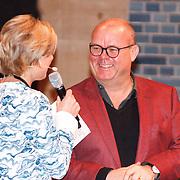 NLD/Amsterdam/20160121 - Uitreiking Taalhelden prijzen 2016 door Prinses Laurentien, Prinses Laurentien en Paul de Leeuw