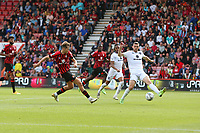 Football - 2021 / 2022 EFL Cup - Round 1 -AFC Bournemouth vs. MK Dons - <br /> <br /> Bournemouth's David Brooks makes it five for the cherries during the EFL cup match at the Vitality Stadium (Dean Court) Bournemouth <br /> <br /> COLORSPORT/Shaun Boggust