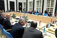 25 MAR 2004, BERLIN/GERMANY:<br /> Uebersicht Sitzung der Ministerpraesidentenkonferenz, Landesvertretung Bayern<br /> IMAGE: 20040325-02-040<br /> KEYWORDS: Ministerpräsidentenkonferenz, Übersicht
