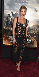 """actress Elsa Pataky attends the """"12 Strong"""" World Premiere on January 16, 2018 at Jazz at Lincoln Center in New York City, New York, USA."""