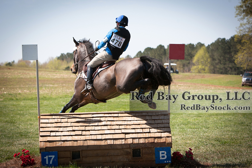 Phillip Dutton and Mighty Nice at 2013 The Fork Horse Trials in Norwood, NC.