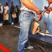 Undocumented immigrants are deported from LA County Jail in California. California is home to the largest population of undocumented immigrants in the nation. The federal government started a pilot program to staff LA County Jail 24 hours a day to detain and deport criminal undocumented immigrants. Please contact Todd Bigelow directly with your licensing requests.