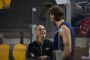 DESCRIZIONE : Roma LNP A2 2015-16 Acea Virtus Roma Angelico Biella<br /> GIOCATORE : Attilio Caja<br /> CATEGORIA : pre game pre partita allenatore coach<br /> SQUADRA : Acea Virtus Roma<br /> EVENTO : Campionato LNP A2 2015-2016<br /> GARA : Acea Virtus Roma Angelico Biella<br /> DATA : 15/11/2015<br /> SPORT : Pallacanestro <br /> AUTORE : Agenzia Ciamillo-Castoria/G.Masi<br /> Galleria : LNP A2 2015-2016<br /> Fotonotizia : Roma LNP A2 2015-16 Acea Virtus Roma Angelico Biella