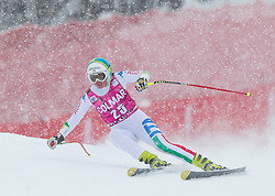 20.01.2013, Olympia delle Tofane, Cortina d Ampezzo, ITA, FIS Weltcup Ski Alpin, Super G, Damen, im Bild Verena Stuffer (ITA) // Verena Stuffer of Italy in action during the ladies Super G of the FIS Ski Alpine World Cup at the Olympia delle Tofane course, Cortina d Ampezzo, Italy on 2013/01/20. EXPA Pictures © 2013, PhotoCredit: EXPA/ Johann Groder
