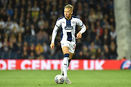 West Bromwich Albion striker (on loan from Newcastle United) Dwight Gayle (16) during the EFL Sky Bet Championship match between West Bromwich Albion and Bristol City at The Hawthorns, West Bromwich, England on 18 September 2018.