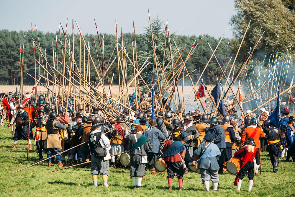 Aug 2019 Scrampston  Hall , Malton - Sealed Know society re enactment of Battle of Marston Moor with Robert Crampton