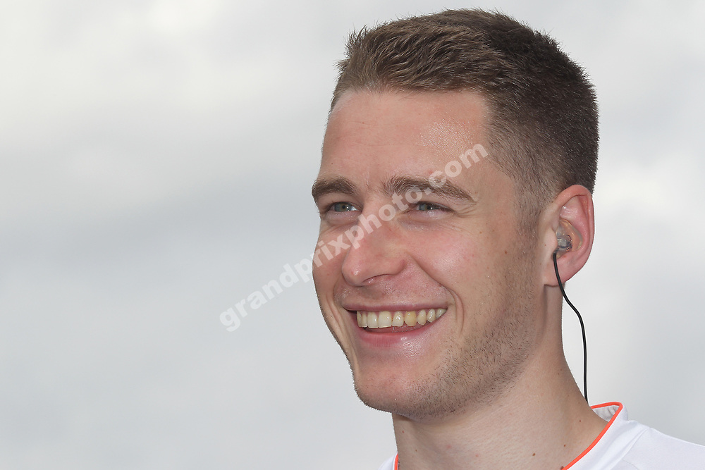 Test driver Stoffel Vandoorne (McLaren-Honda) before the 2016 German Grand Prix at Hockenheim. Photo: Grand Prix Photo