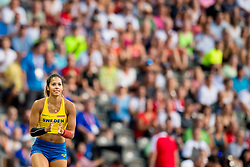 August 9, 2018 - Berlin, GERMANY - 180809 Angelica Bengtsson of Sweden competes in the women's pole vault final during the European Athletics Championships on August 9, 2018 in Berlin..Photo: Vegard Wivestad GrÂ¿tt / BILDBYRN / kod VG / 170199 (Credit Image: © Vegard Wivestad Gr¯Tt/Bildbyran via ZUMA Press)