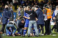 Joie Bastia  / Florian MARANGE - 04.02.2015 - Monaco / Bastia - 1/2Finale Coupe de la Ligue<br />Photo : Sebastien Nogier / Icon Sport