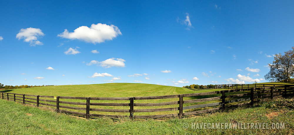 Farm in the Virginia countryside. Fosters Branch Road, between Eastham and Barboursville.