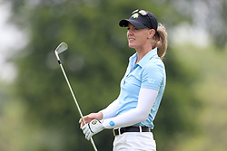 March 2, 2019 - Singapore - Amy Olson of the United States plays plays a shot on the 11th hole during the third round of the Women's World Championship at the Tanjong Course, Sentosa Golf Club. (Credit Image: © Paul Miller/ZUMA Wire)