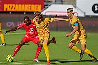 Fotball , 5.juli 2020 , Eliteserien , Bodø/Glimt - Brann<br /> <br /> Gilbert Koomson , Brann