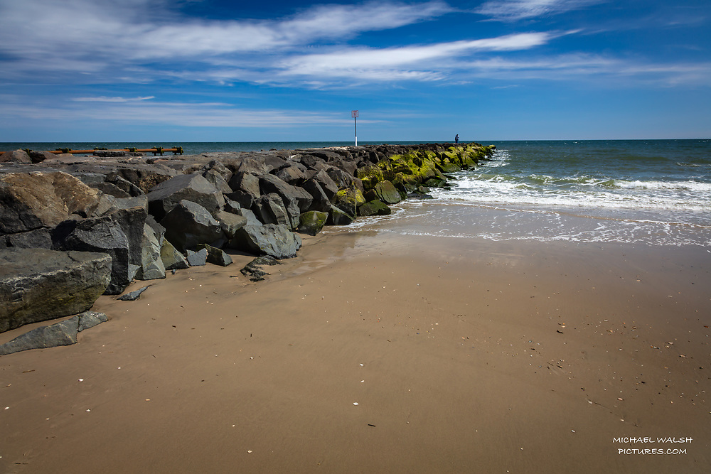 """TO PURCHASE: Simply click """"ADD TO CART"""" to see prints and products available.<br /> <br /> Also follow me on instagram @michaelwalshpictures or facebook at Michael Walsh.<br /> <br /> Ocean City is a popular family vacation beach town along the Jersey Shore.<br /> <br /> It boasts a great, world famous boardwalk along with many other maritime activities.<br /> <br /> This memory was captured near 5th Street and the Boardwalk on a fantastic spring day.<br /> <br /> Camera Data:<br /> f/13, 24mm, 1/40sec, ISO100<br /> RAW, Evaluative Metering, Lr<br /> Tripod, Polarizer,<br /> Canon 5ds, Canon EF 24-105<br /> <br /> High Resolution Image"""